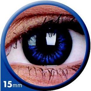 BigEyes Cool Blue 15mm (3-Mois) (2 lentilles)