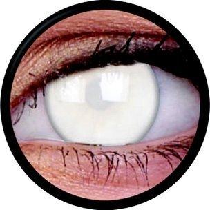 Blind White (Annuelles) (2 lentilles)