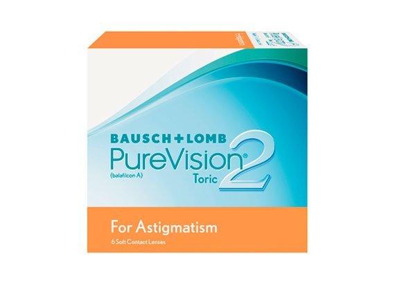 PureVision 2 HD Toric (6 lentilles)