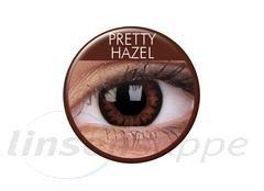 BigEyes Pretty Hazel (3-Monatslinse) (2 Stk.)