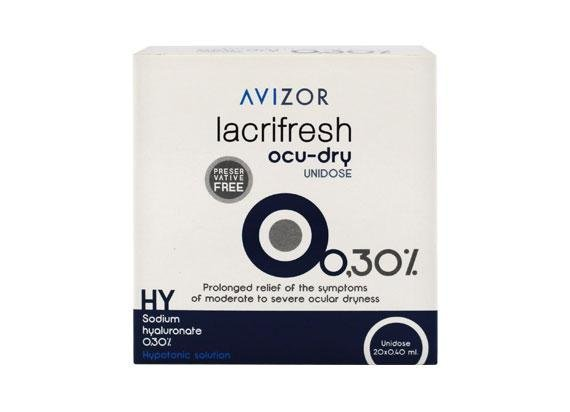 Avizor lacrifresh ocu-dry 0,3% (20x 0,4ml)